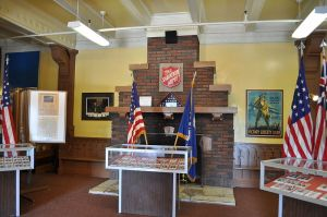 "Photo: ""Fort Lewis Military Museum - lobby 02"" by Joe Mabel."