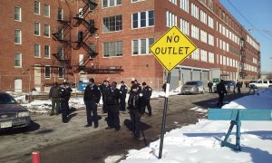 "Indeed, for some there is ""no outlet"" from Homan Square. Image Credit: Alex Freeman"