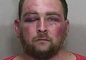 Dustin Heathman after arrest.