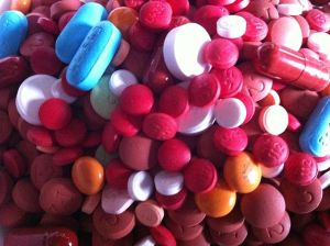 """Image Source: """"Assorted Pills 1"""" by ParentingPatch - Own work. Licensed under CC BY-SA 3.0 via Wikimedia Commons - http://commons.wikimedia.org/wiki/File:Assorted_Pills_1.JPG#/media/File:Assorted_Pills_1.JPG"""