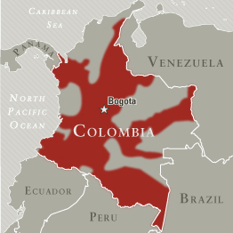 """""""FARC areas of operation"""" by NCTC -"""