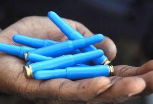 Rubber Bullets Image Source: DOD