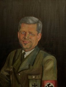 """""""The Right Honourable Stephen Harper"""" by James Miller - www.twistedreality.ca."""