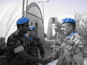 Bangladesh Peacekeepers. They were not implicated in wrong doing.  Image Source: Fahad Faisal