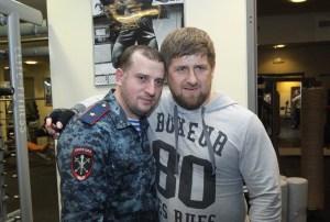"Kadyrov ""Рамзан и Апти Алаудинов"" by Grozny2015 - Own work. Licensed under CC BY-SA 4.0"