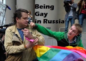 Being gay in Russia. Image Source: Democracy Chronicles, Flickr, Creative Commons.