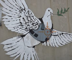 Banksy's Dove Image Source: young shanahan, Flickr, Creative Commons.