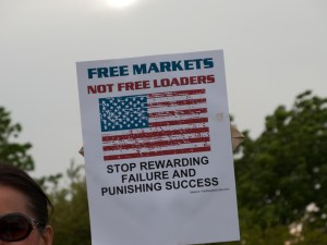 Free Market. Tea Party. Image Source: Susan E Adams, Flickr, Creative Commons.