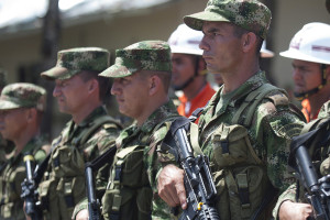 Colombian Troops. Image Source: DOD