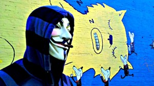 Anonymous cat mural Image Source: Stephen C. Webster, Flickr, Creative Commons