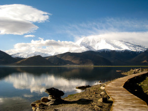 "Tajikistan. Image Source: ""Gutman Karakul lake"" by Caroline Gutman"