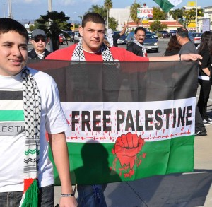"""Palestine Gaza Protester at Anaheim, Ca 1 4 09"" by Sclarkson"
