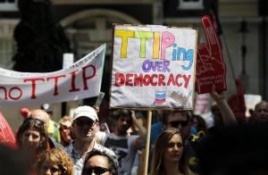 TTIP Image Source: Global Justice Now, Flickr, Creative Commons