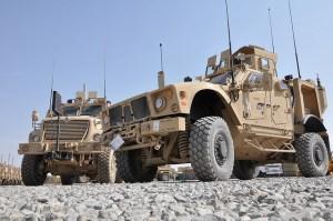 MRAPs Image Source: Department of Defense.