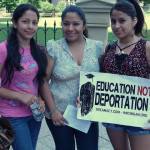 Immigration sign. Image Source: ProgressOhio, Flickr, Creative Commons