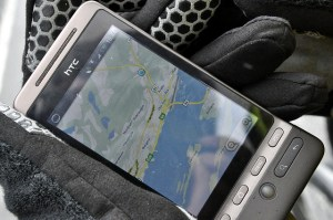 Cell phone GPS map Image Source: Daniel Flathagen, Flickr, Creative Commons