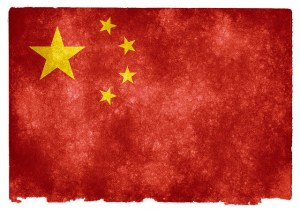 Chinese flag. Image Source: Nicolas Raymond, Flickr, Creative Commons