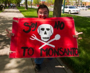 March against Monsanto Image Source: John Novotny, Flickr, Creative Commons.