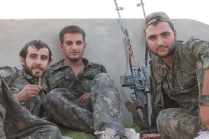 free kurdistan, Flickr, Creative Commons Kurdish YPG Fighters