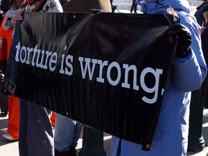 Torture is wrong. Image Source: takomabibelot, Flickr, Creative Commons
