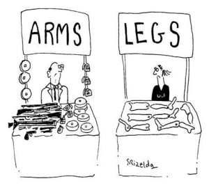 Comic Image Source: Control Arms, Flickr, Creative Commons