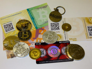 Image Source: BTC Keychain, Flickr, Creative Commons Bitcoin IMG_3163 Different stores and representations of Bitcoin.
