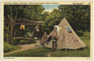 Image Source: Boston Public Library, Flickr, Creative Commons Cherokee Indians, Cherokee Indian Reservation, North Carolina