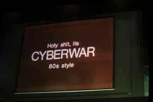 Image Source: Kristina D.C. Hoeppner , Flickr, Creative Commons Cyberwar 80s style