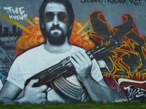 Image Source: Petit_louis, Flickr, Creative Commons AK 47 , RAY BAN Tag canal de l'ourcq