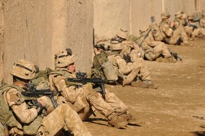 Image Source: ResoluteSupportMedia, Flickr, Creative Commons 090103-M-6058R-039 HELMAND, Afghanistan--British Royal Marine Commandos take part in Operation Sond Chara, the clearance of Nad-e Ali District of Helmand Province in southern Afghanistan by Afghan National Security Force and troops deployed with the International Security Assistance Force 42-Commando in late December. The operation's goal was to bring stabilzation to the district and to increase security to Lashkar Gah and set safe conditions for voter registration later this year. ISAF Photo by U.S. Marine Corps Corporal John Scott Rafoss (RELEASED)