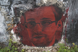 Image Source: thierry ehrmann, Flickr, Creative Commons Edward Snowden, painted portrait DDC_8301