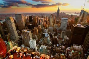 Image Source: Jerry Ferguson, Flickr, Creative Commons New York Sunset - HDR New York Sunset - From Rockefeller Center