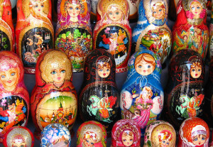 Image Source: neiljs Flickr, Creative Commons Matryoshka dolls, Moscow
