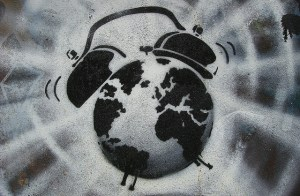 Image Source: Bob Bob, Flickr, Creative Commons World Alarm Clock - Grove Passage, London