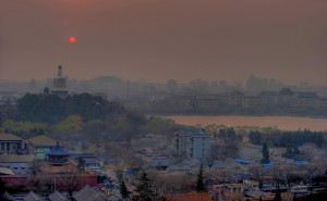 Image Source: Mike Behnken, Flickr, Creative Commons Smoggy Sunset - Beijing, China