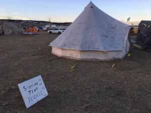 Standing Rock - Photo Credit - Debra Cohen