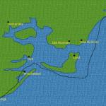 Ancient coast line of Romney Marsh