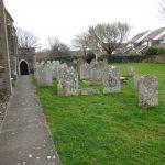 Wandering around the churchyard