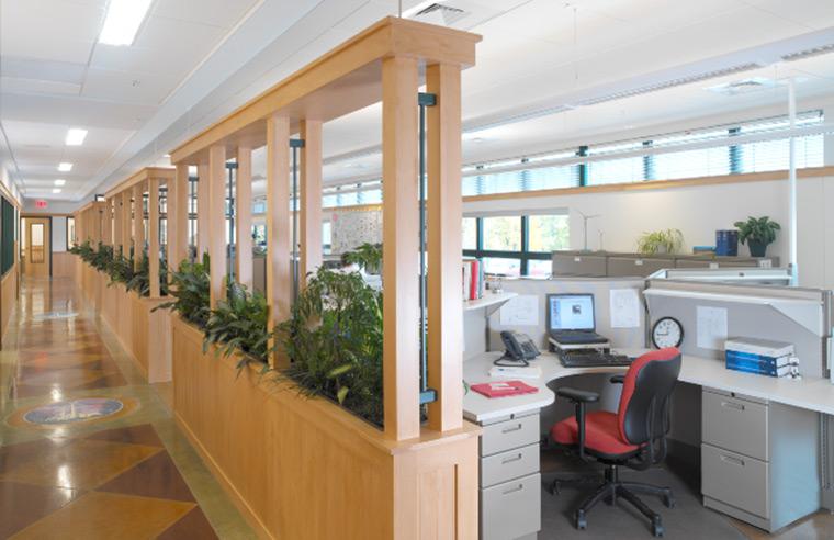 Wind NRG Partners Campus interior
