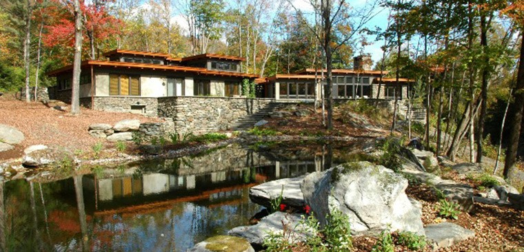 Stone House – a Net Zero home using local stone       photo courtesy Carolyn Bates
