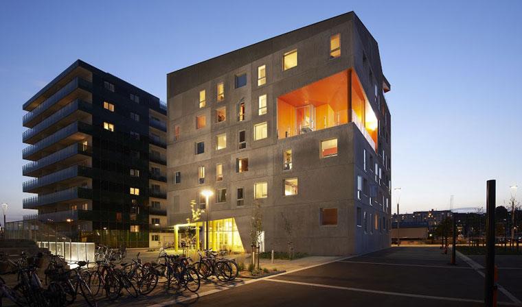 Terroir's Vulkanen Aarhus Student Housing. Image: Martin Schubert
