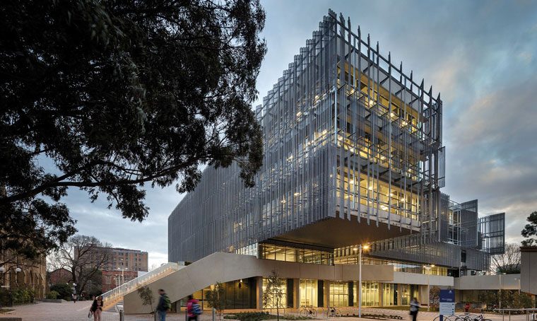 Melbourne School of Design at The University of Melbourne. Image: John Gollings