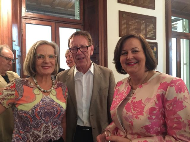 L to R: Lucy Turnbull, Edmund Capon and Jane Jose