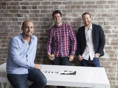 (L-R): Liam O'Brien, Edward McMillan and Ryan McClenagh of MM Creative