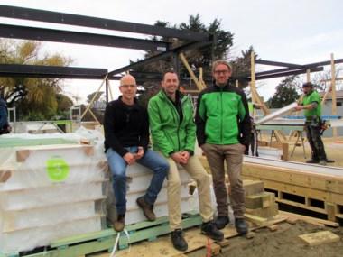 (L-R): Chris Barnett, Andrei Martin and Logan Berg