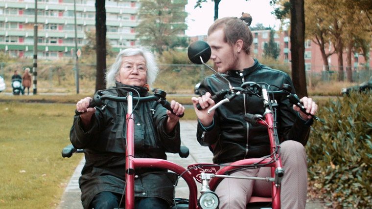 Humanitas, Amsterdam, where college students and nursing home residents live together.
