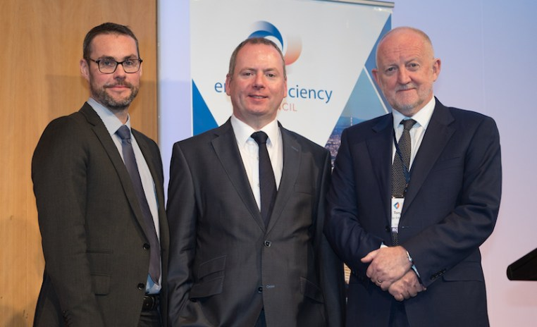 Left to Right: Luke Menzel, Dr Brian Motherway, Tony Arnel