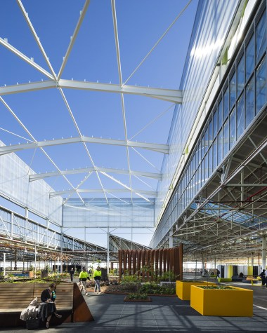 Tonsley Main Assembly Building and Pods. Image:  Sam Noonan