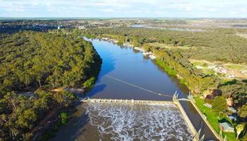 Barwon-Darling River aerial