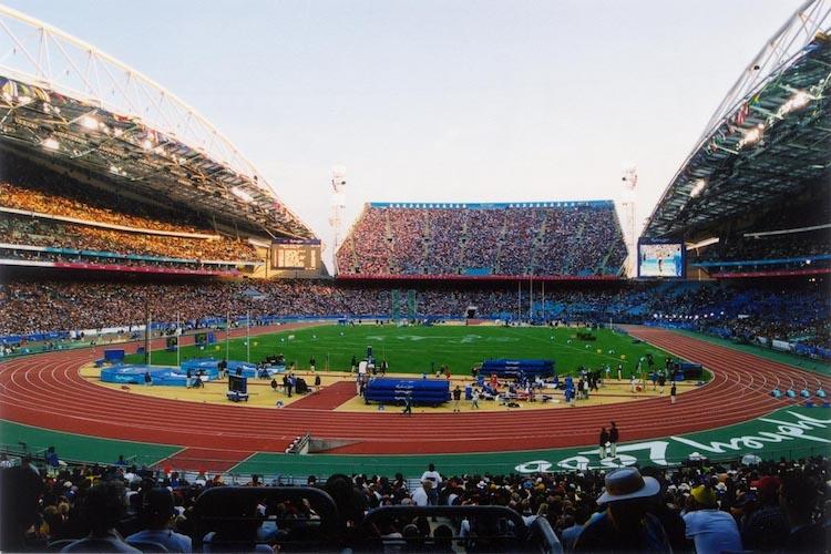 olympic stadium inside